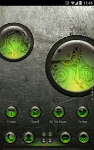 Next Launcher Theme SteampunkG - screenshot thumbnail