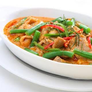 HFG Thai chicken curry.
