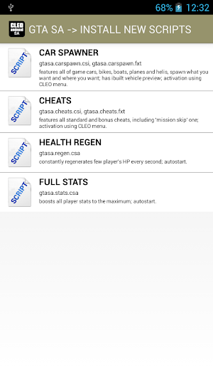 CLEO SA app screenshot
