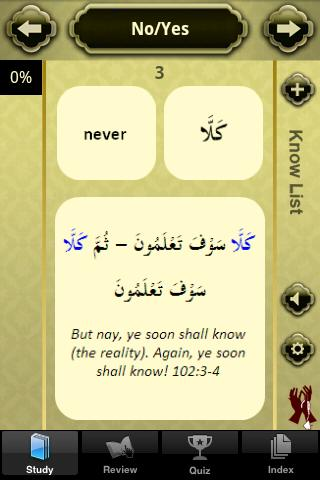 Quranic Words-Understand Quran - screenshot