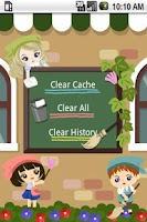 Screenshot of History cleaning shop