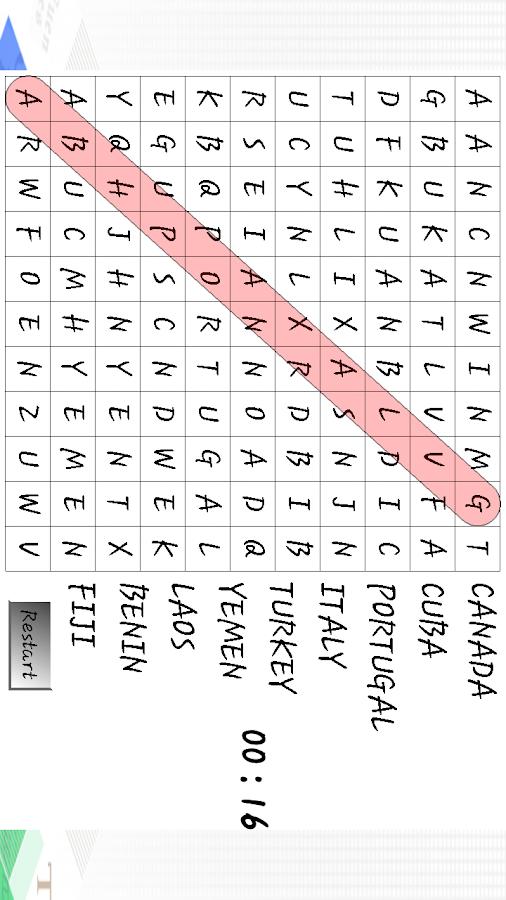 Soek die woord puzzles fun - screenshot