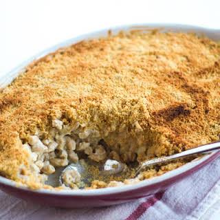 Cauliflower Cashew Pasta Bake.