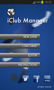 iClub Manager - screenshot thumbnail