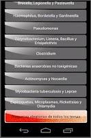 Screenshot of Preguntas de Bacteriologia