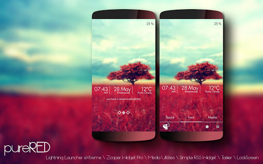 pureRED LLX Theme\Template