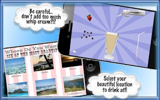 Screenshot of Milkshake - Cooking Games App