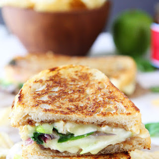 Brie, Fig, and Apple Grilled Cheese.
