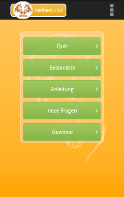 Reiterquiz - screenshot