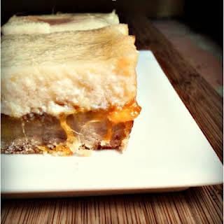 Mango Cream Bars.