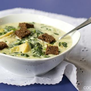 Spinach Artichoke Soup Recipes.