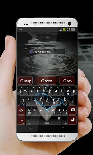 無料个人化Appの未来ブラック TouchPal テーマ|記事Game