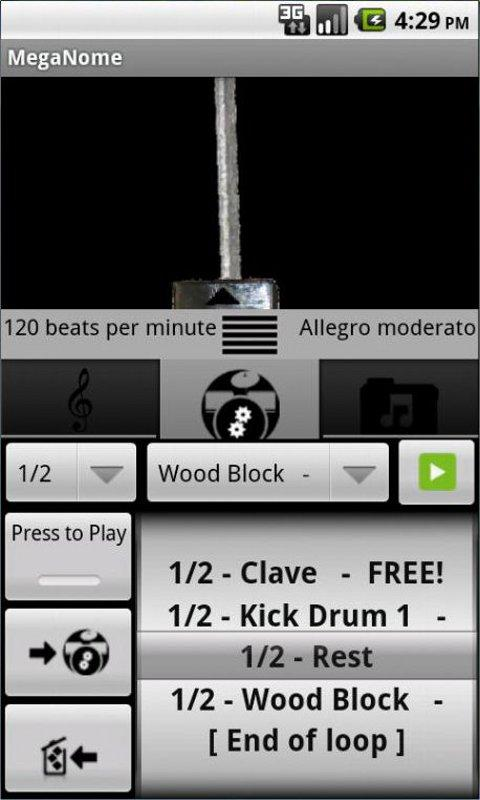 Free Metronome & Drum Machine - screenshot