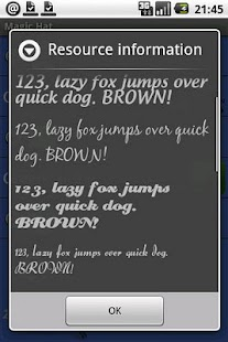 Ultra Mate Journal fonts x - screenshot thumbnail