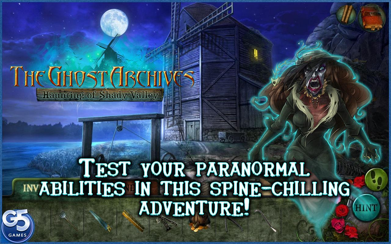 The Ghost Archives: Haunting of Shady Valley- screenshot