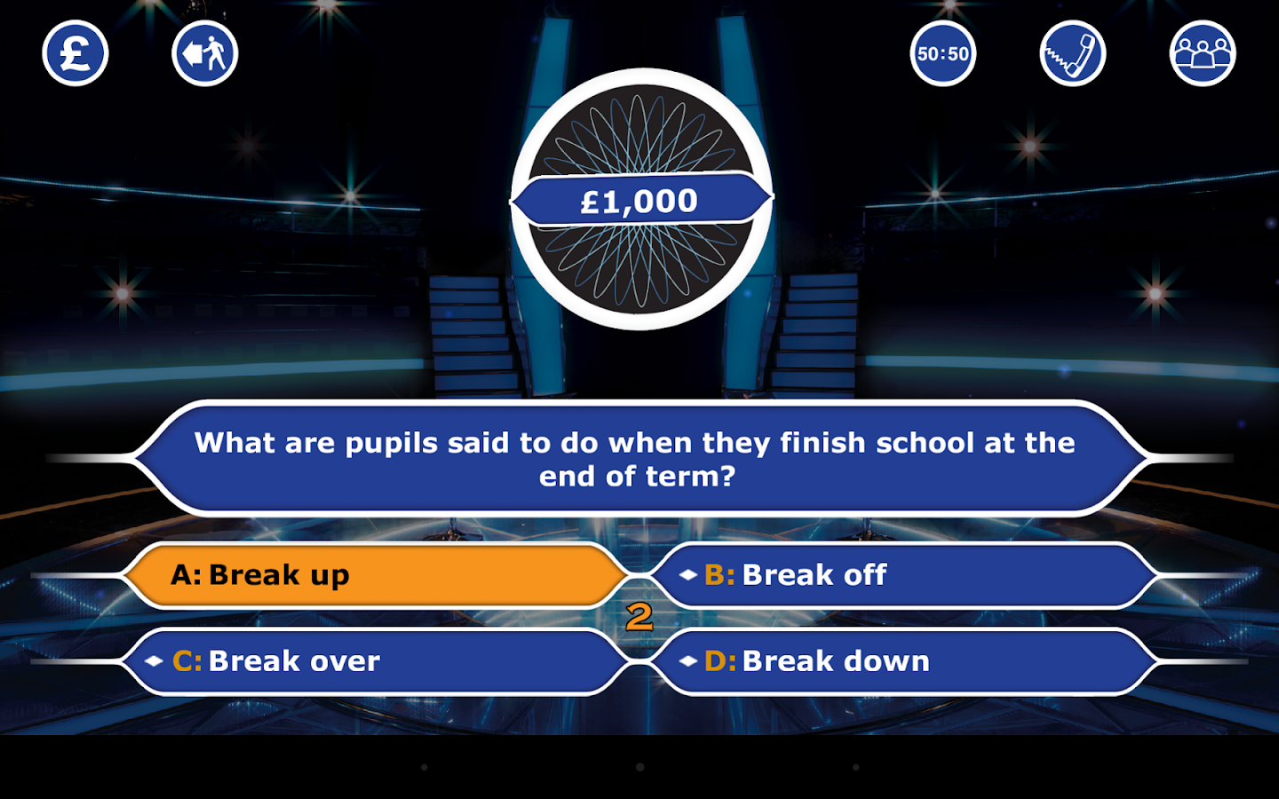 who wants to be a millionaire game show app