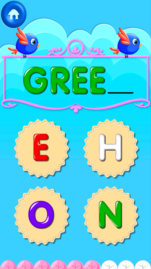 color game screenshot - Free Color Games