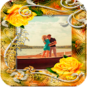 Flower Romantic Photo Frames