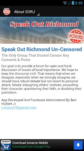 Speak Out Richmond