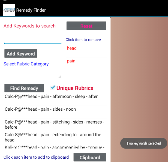 Homeopathic Remedy Finder Android Apps On Google Play