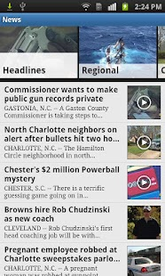 WCNC Charlotte News- screenshot thumbnail