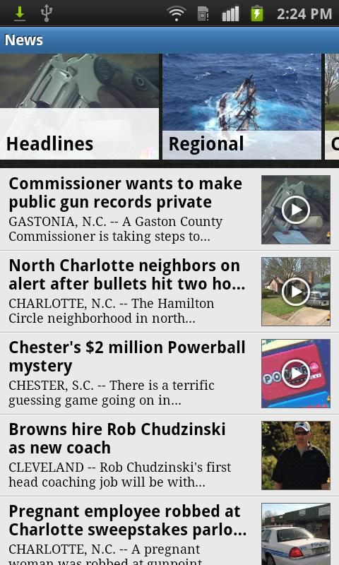 WCNC Charlotte News - screenshot