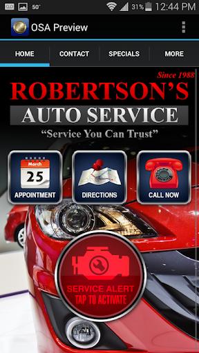 Robertsons Automotive