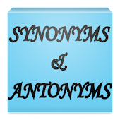 English Synonyms & Antonyms