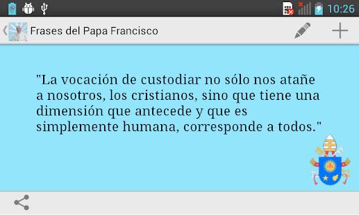 Frases del Papa Francisco - screenshot thumbnail