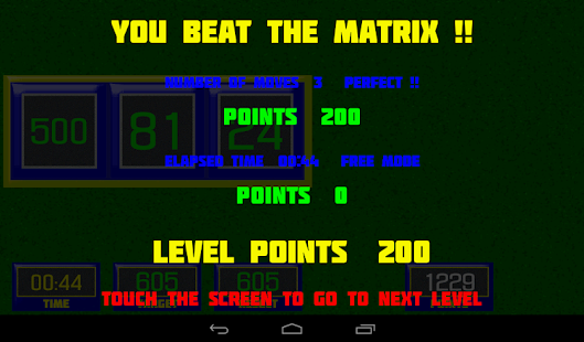 Beat The Matrix- screenshot thumbnail