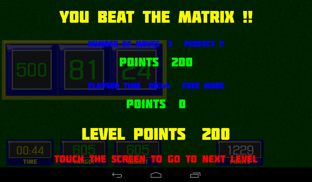 Beat The Matrix- screenshot