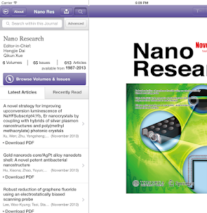 Nano Research - screenshot thumbnail