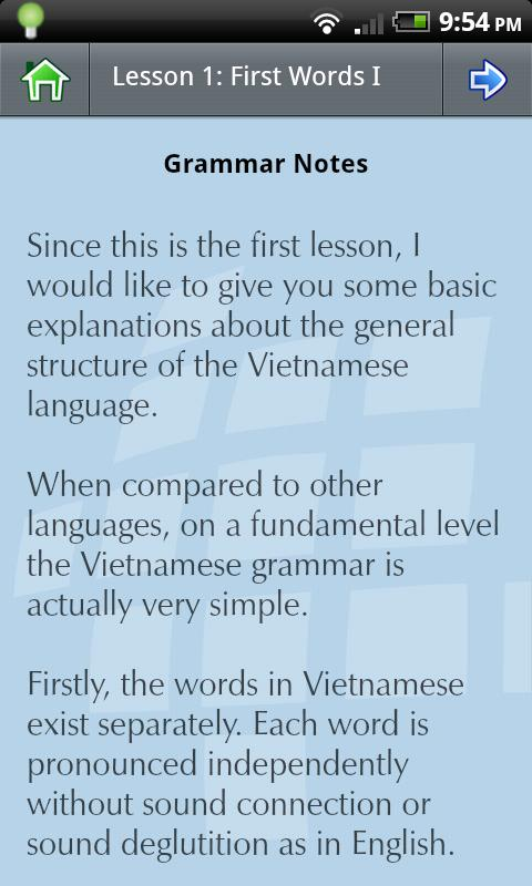 L-Lingo Learn Vietnamese - screenshot