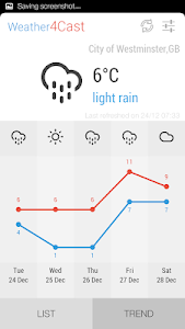 Weather4Cast screenshot 1