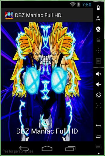 DBZ Maniac Full HD
