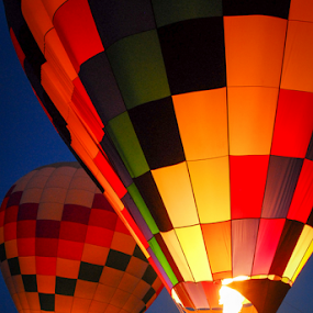 Hot Air Balloons by Dave Clark - Transportation Other ( fly, transportation, balloon, fire )