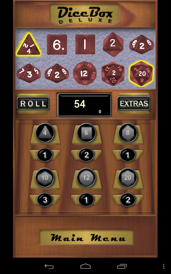Dice Box Deluxe- screenshot