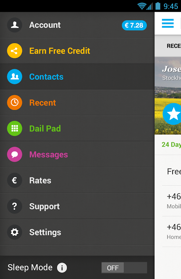 Rebtel: Cheap and Free Calls - screenshot