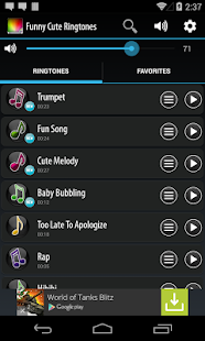Funny and Cute Ringtones- screenshot thumbnail