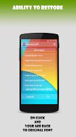 Screenshot of Khmer Unicode Installer