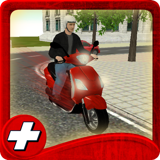 Free Scooter Drive School 3D
