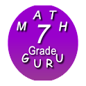 Seventh Grade Kids Math Guru icon