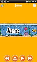 Screenshot of Months for Kids Flashcards