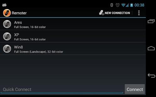 Remoter RDP Client- screenshot thumbnail