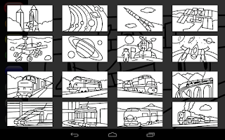 Screenshot of Zebra Paint Pro Coloring App