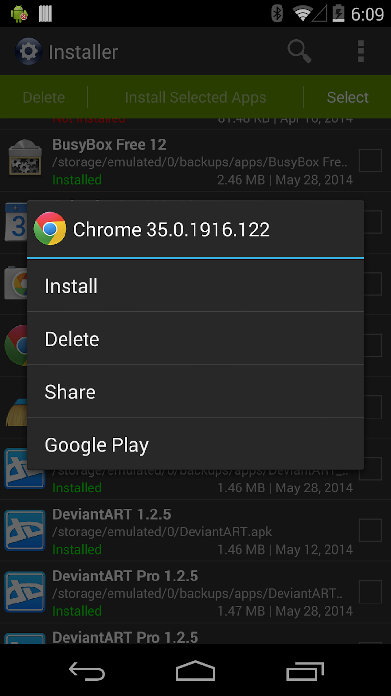 Installer Pro - Install APK Screenshot 1