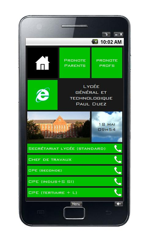 Cité Scolaire Paul Duez- screenshot