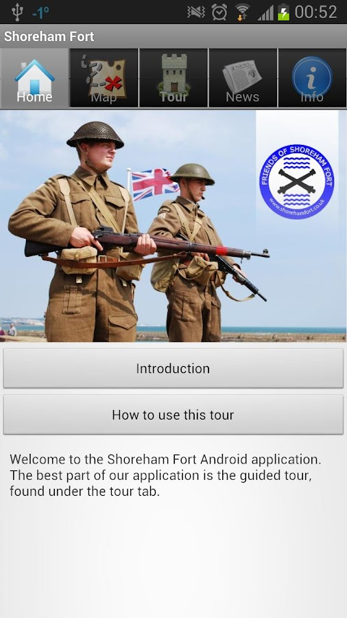 Shoreham Fort Tour - screenshot