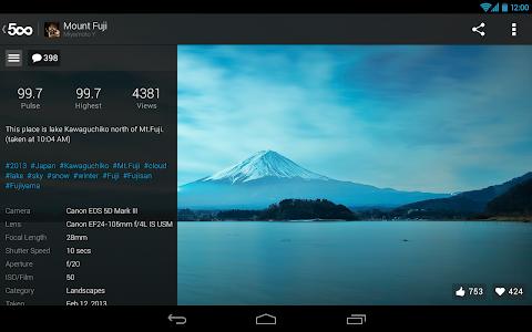 500px – Discover great photos v2.3.0