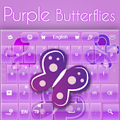 Purple Keyboard Girl Theme